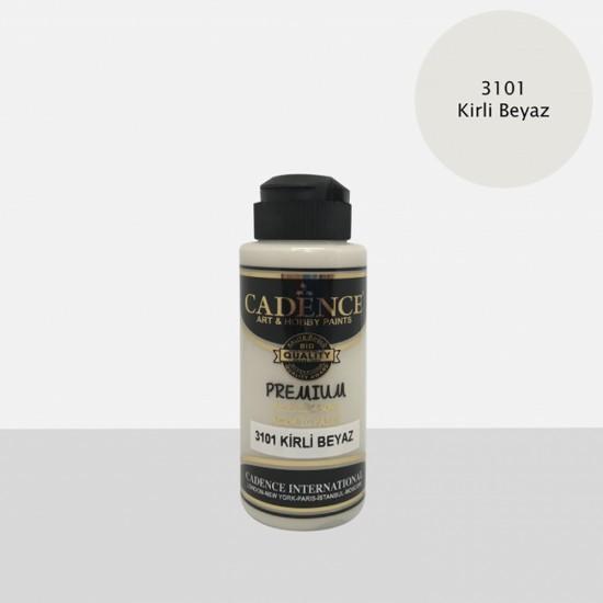 Cadence Akrilik Boya 3101-Kirli Beyaz 120ml