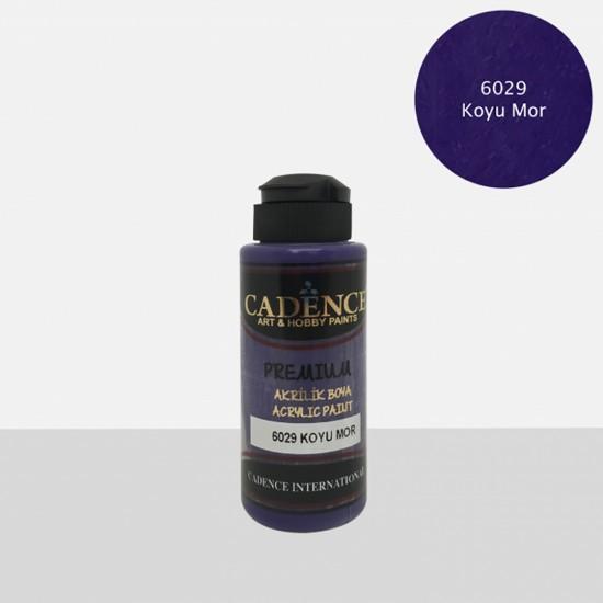 Cadence Akrilik Boya 6029-Koyu Mor 120ml