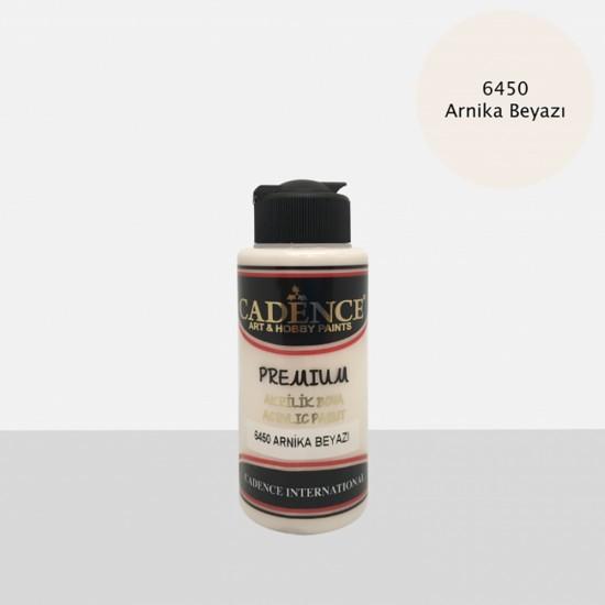 Cadence Akrilik Boya 6450-Arnika Beyazı 120ml