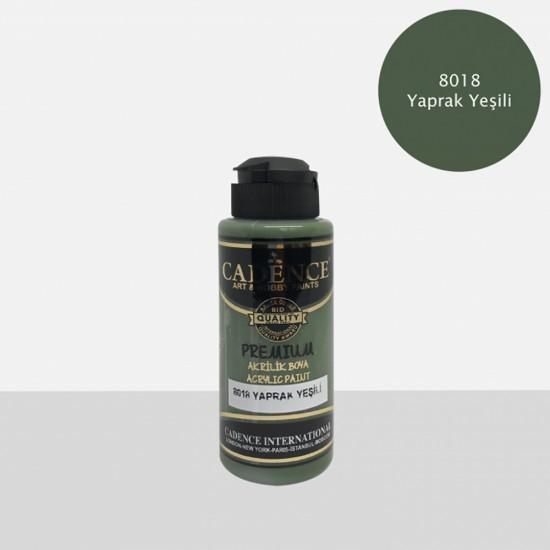 Cadence Akrilik Boya 8018-Yaprak Yeşili 120ml