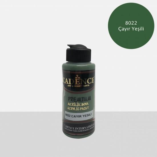 Cadence Akrilik Boya 8022-Çayır Yeşili 120ml