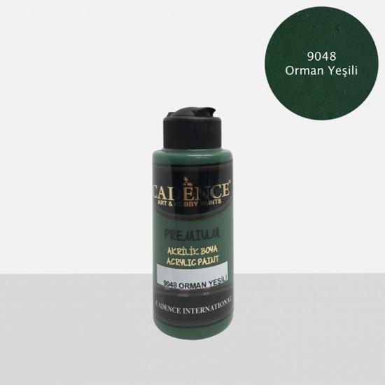 Cadence Akrilik Boya 9048-Orman Yeşil 120ml