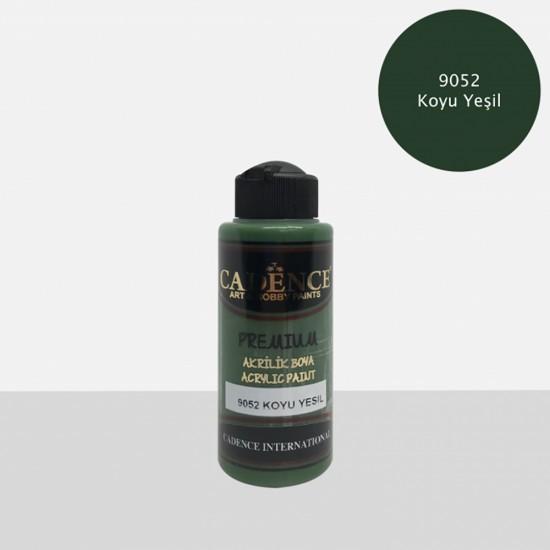 Cadence Akrilik Boya 9052-Koyu Yeşil 120ml