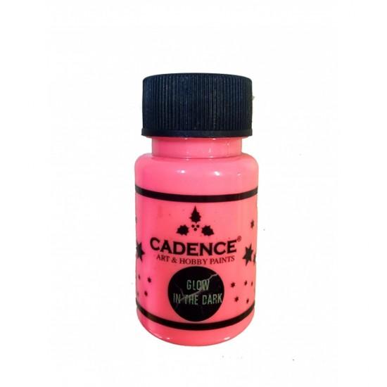 Cadence Glow in Dark (Karanlıkta Parlayan Boya) 579-Pembe 50ml