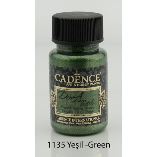 Cadence Dora Kumaş Boyası 1135-Yeşil 50ml