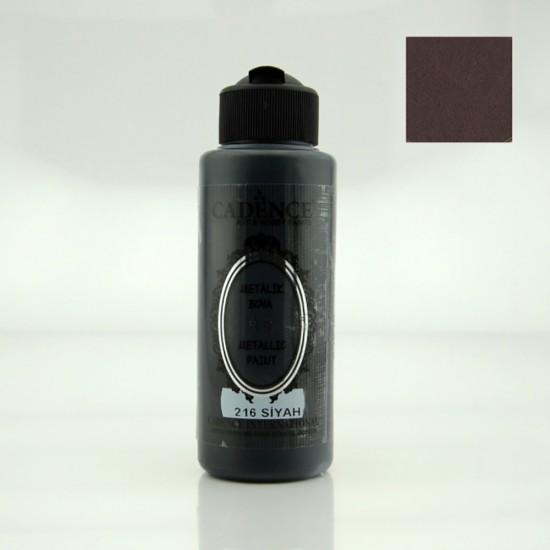 Cadence Metalik Boya 216-Siyah 120ml