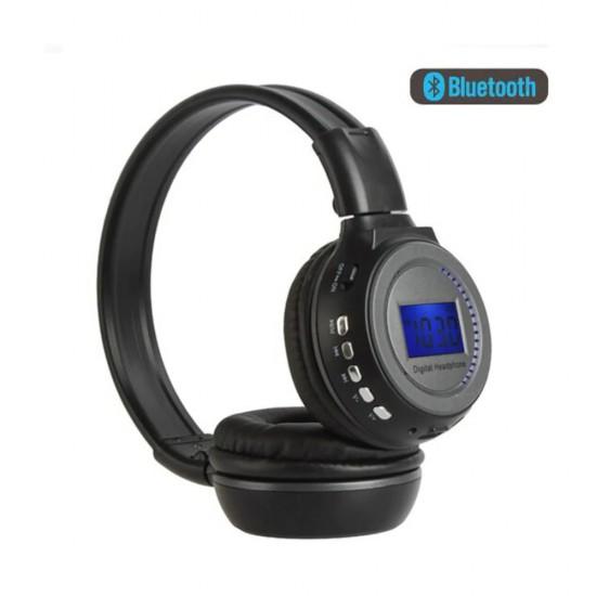 BS-N65 Kulaklık LCD Ekran Ile TF MP3 Çalar Kablosuz kulaklık