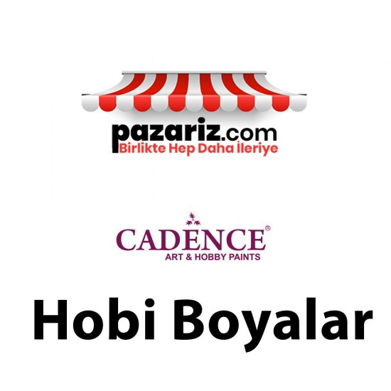Cadence Multi Surface Metalik Boya Gümüş 500 ml H-804