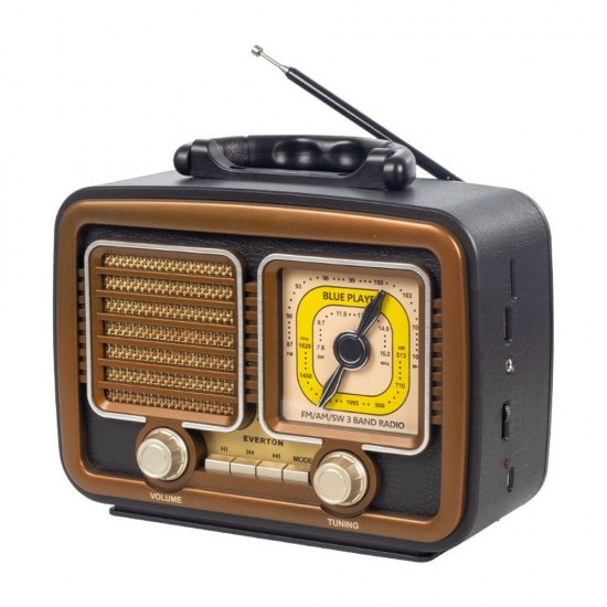 Everton RT-832 Bluetooth, Usb/Sd/Aux/Fm Nostalji Müzik Kutusu