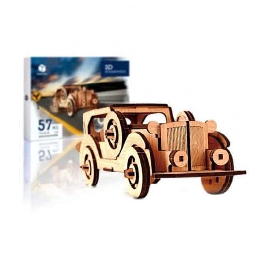 Ford 3D Ahşap Puzzle 57 Parça