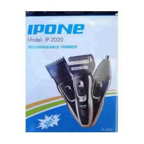 IPONE IP-2020 3 Başlıklı Traş Makinesi