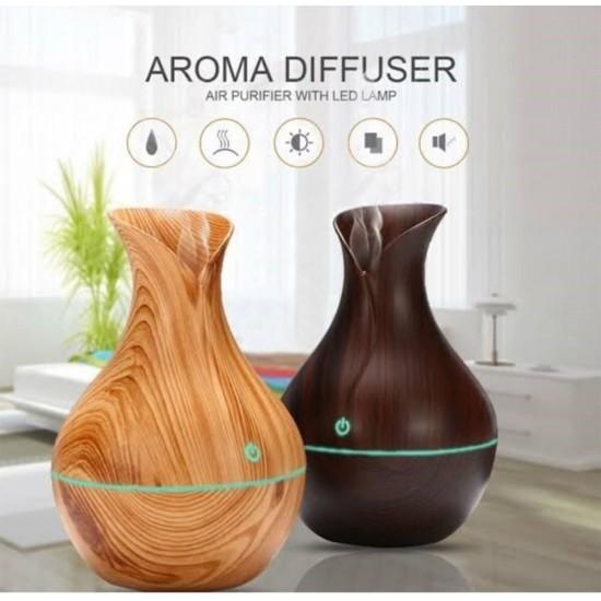 Dekoratif Aromatherapy Spa Hava Nemlendirici Ultrasonik Iyonizer 7 Renk Buhar Makinesi