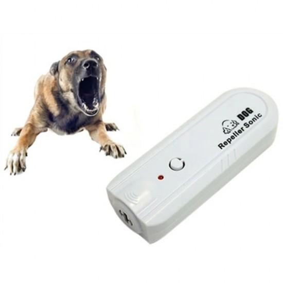Köpek Savar Keko TJ-3008 Beyaz (Ultrasonik Kedi-Köpek Kovucu)