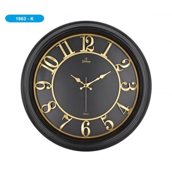 Pazariz Galaxy 1963-K Premium Kabartma Rakamlı Duvar Saati