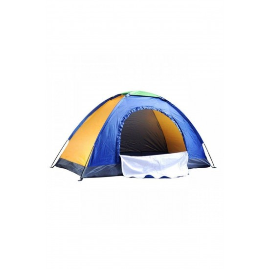 Pazariz 6 Kişilik Su Geçirmez Sineklikli Kamp Çadırı