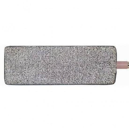 Pazariz  Spin Mop Mikrofiber Tablet Mop Yedek Bezi Gri 12 x 33 CM