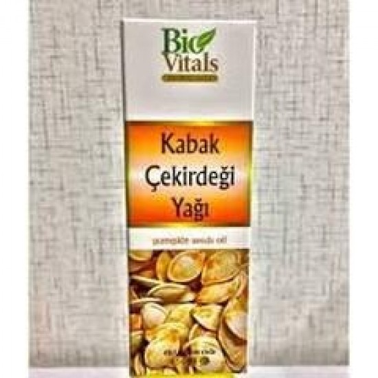 Bio Vitals Kabak Çekirdeği Yağı - 50 ml