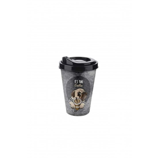 Pazariz  Ap-9122 Köpekli Kahve Mug