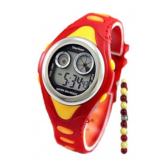 Pazariz Dijital Full Fonksiyonlu Çocuk Kol Saati + Bileklik