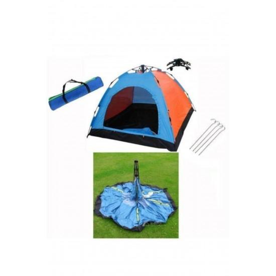 Pazariz 4 Kişilik Otomatik Kamp Çadırı