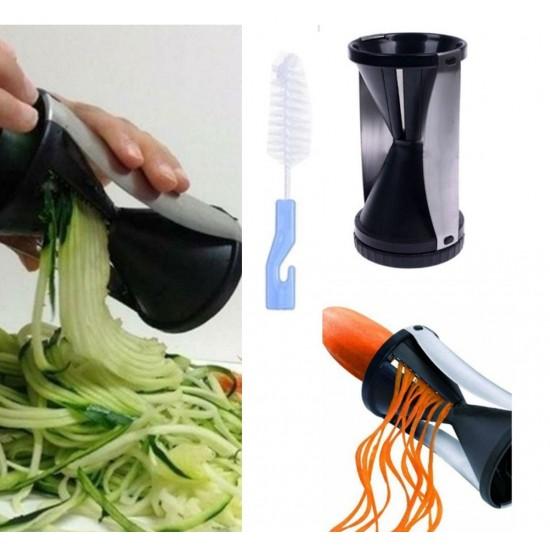 Pazariz  Spiral Sebze Doğrayıcı Vegetti Slicer Rende Temizleme Fır