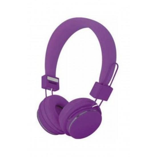 Pazariz Color Ep05 Kafa Bantlı Bluetooth Kulaklık - Mor