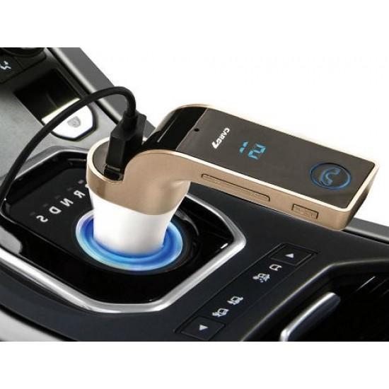 Pazariz Carg7 Bluetooth Araç FM Transmitter Usb Girişli