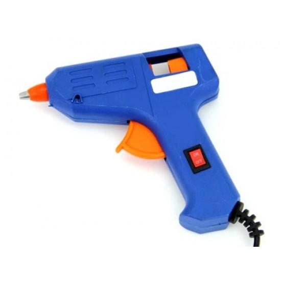 Pazariz Glue Gun Sıcak Silikon Tabancası Aç/Kapa Düğmeli 20Watt