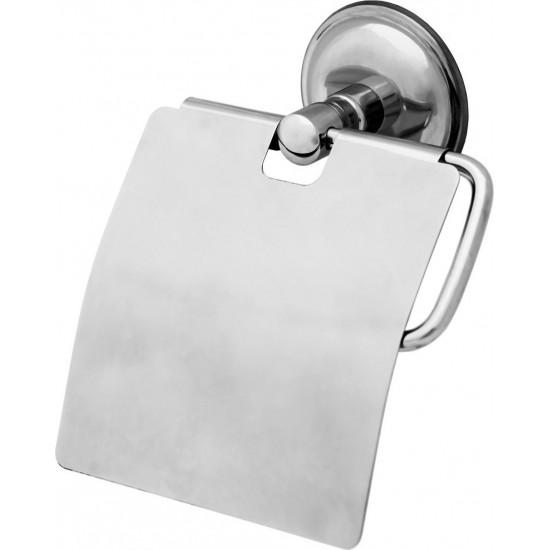ARÇE Geniş Kapaklı Paslanmaz Krom Tuvalet Kağıtlığı