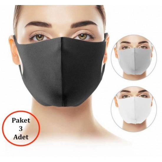 Pazariz  Nano Maske Solunum Maskesi 1 Adet Hijyenik Eldiven Hediye