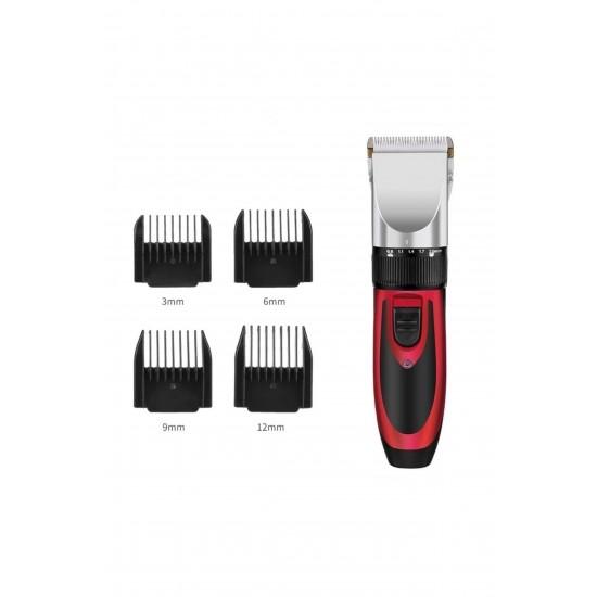Pazariz Profesyonel Saç Sakal Kesme Tıraş Makinesi