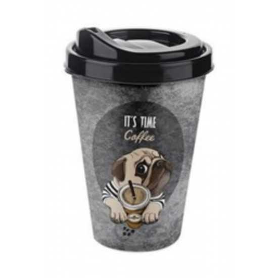 Pazariz   Coffee Bardak 400 Ml (ıt's Time Coffee) ,kahve Çay Bardağı
