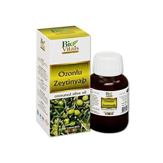 Bio Vitals Ozonlu ZeytinYağı 50 ML