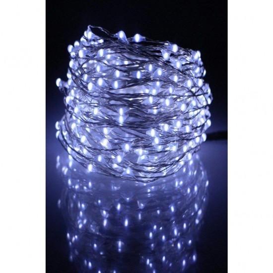 Pazariz  10 Metre Pilli Peri Led- Dekoratif Led Işık-Yılbaşı Aydınlatma RGB