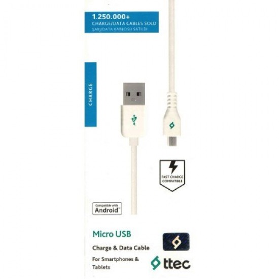 Pazariz  Micro Usb Şarj ve Data Kablosu Samsung/Lg/Htc/Zenfone/Huawei