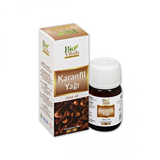 Pazariz 2 Adet Bio Vitals Karanfil Yağı 20 ml+ 20 ml