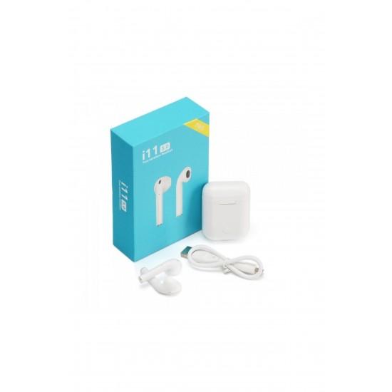 Pazariz i11 Bluetooth 5.0 Kulaklık - Airpods