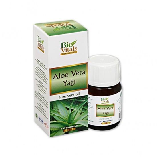 Pazariz Bio Vitals Aloe Vera Cilt Bakım Yağı 20ml
