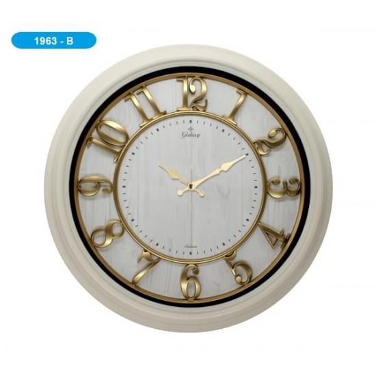Pazariz Galaxy 1963-B Premium Kabartma Rakamlı Duvar Saati