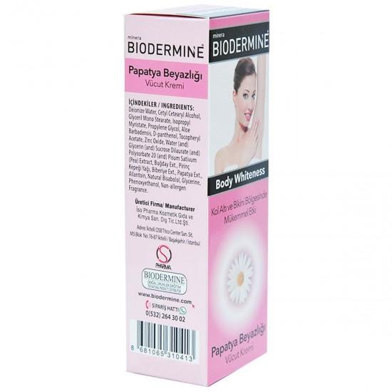 Biodermine Papatya Beyazlığı - Vücut Kremi 75 ML