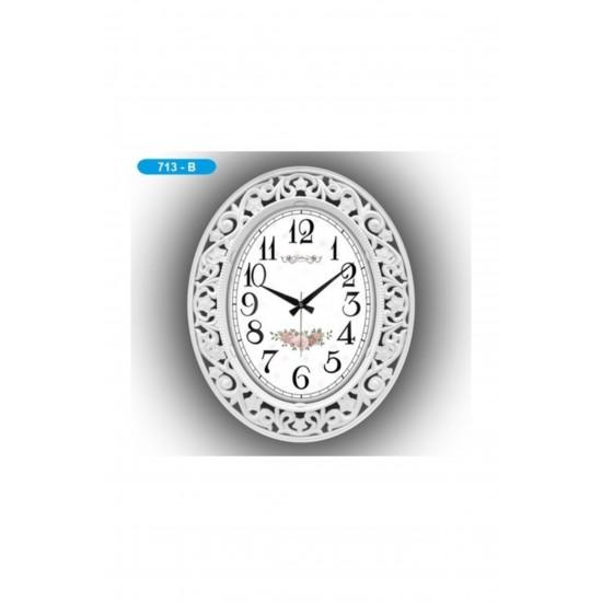 Pazariz Galaxy Oymalı Dekorasyon Duvar Saati 713-b