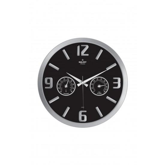 Pazariz Ayp-705-Bk Premium Termometreli D.Saati