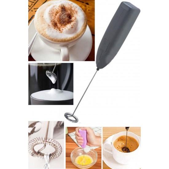 Pazariz Kahve&Süt Köpürtücü, Pilli Karıştırıcı-Renkli