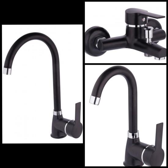 Ema Delta Mutfa Banyo ve Lavabo Bataryası Set