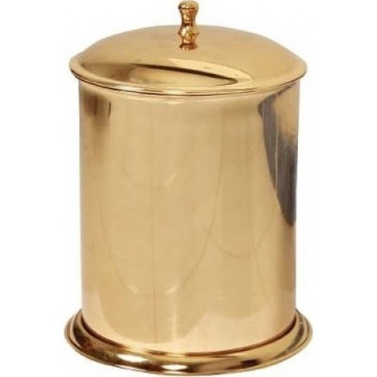 Cekinox Lpd Altın Manuel Çöp Kovası Paslanmaz