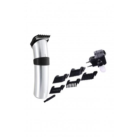 Pazariz 609 Profesyonel Şarjlı Saç Sakal Kesme Traş Tıraş Makinesi