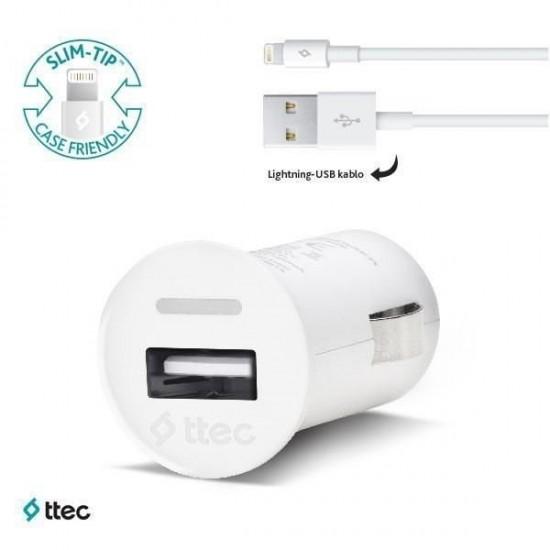 Pazariz  Compact ios USB Araç Şarj Cihazı 2CKC752