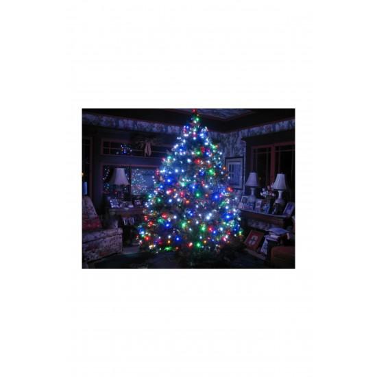 Pazariz 100 Ledli Mavi Yılbaşı Ağacı Işığı Led Ampül
