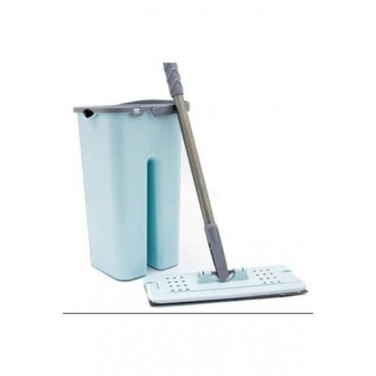 Pazariz   Tablet Magic Flat Mop Yer Duvar Silme Microfiber Paspas Temizlik Seti