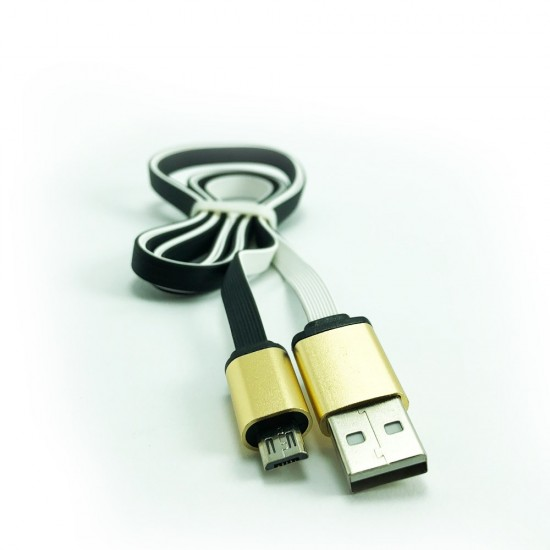 Pazariz  Samsung Uyumlu USB Gold Uçlu Şarj Kablo